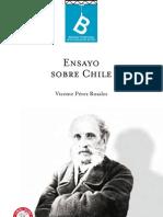 PÉREZ ROSALES, Vicente - Ensayo sobre Chile