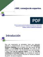 Elección de ERP, consejos de expertos