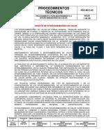 PROCEDIMIENTO PARA MANTENIMIENTO A CAMBIADORES DE CALOR