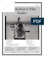 Intro to Film Syllabus