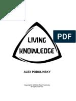 Alex Podolinsky-Living Knowledge