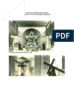 San Vicente Ferrer Parish Church History