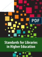 Standards for Libraries in Higher Education 2011