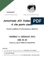Volantino Serata Forni 110113