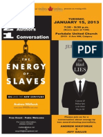 Two Books, Two Authors, One Conversation