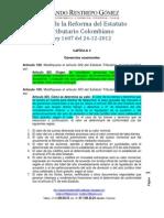 """Como Valorar los Activos afectados por """"Ganancia Ocasional"""" en Colombia"""