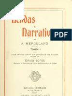 Lendas e Narrativas, de Alexandre Herculano. Vol. 2