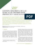 Merchandising Gestion Minorista de Las Marcas