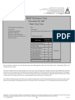 (Www.entrance Exam.net) MAT Sample Paper 1