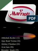 Marriott International (Strategic Mangment Project)   Marriott