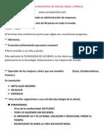 Conferencia Magistral de Miguel Angel Cornejo