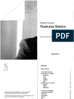 Foucault Michel Fearless Speech
