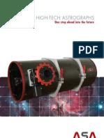 Folder ASA-Astrographen E