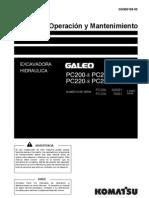 Manual de Mantencion Excavadora Hidrulica Komatsu