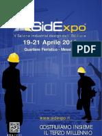 Sidexpo 2013 Brochure ESPOSITORI