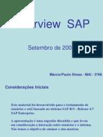 1Treinamento SAP Overview