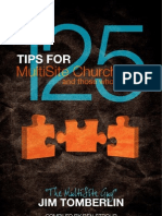 125 Tips for Multi-Site Churches by Jim Tomberlin