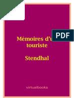 Memoires Dun Touriste
