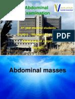 Presentation Abdominal Pain,Masses