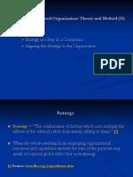 The Strategy-Focused Organization II