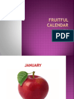 Fruitful Calendar