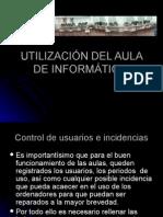 UtilizaciÓn Del Aula de InformÁtica