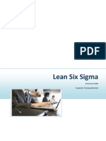Lean Six sigma instructor Guide
