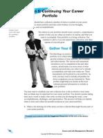l10 - continuing your career portfolio