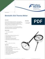 Bi Metalic Dial Thermometer