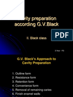 GV Black principles