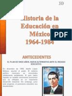 educacion en mexico 1964- a 1984