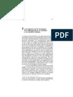 Sassen - Impacto de las TIC en la economia y políticas urbanas