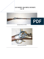 Springfield Model 1861 Rifle-Musket Cal. 58 - 19 Pages