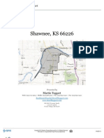 Residential Neighborhood and Real Estate Report for the Shawnee, Kansas Zip Code 66226
