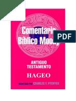 Comentario Biblico Moody - Hageo