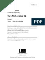 coremaths practice paper F