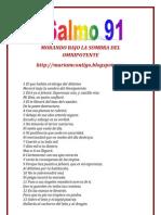 SALMO 91 - ALIANZA DE AMOR