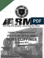 05 Jan 2013 Newsclippings