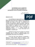 aportes metodologicos para la ampliacion democratica