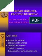 Cronologia Del Proceso de Refino