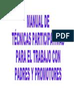 Manual de Tecnicas Didácticas