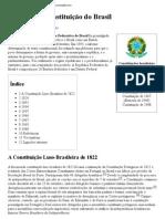 História da Constituição do Brasil – Wikipédia, a enciclopédia livre