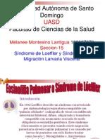Eosinofilia Pulmonar o Sindrome de Lóeffler