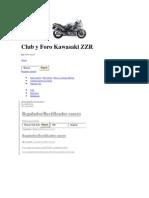 Club y Foro Kawasaki ZZR
