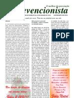 O Prevencionista - Ano XII - Edição de nº 224 de  26 de dezembro de 2.012