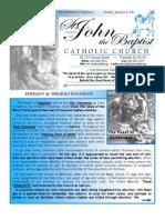 January 6 2013 Bulletin