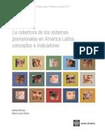 La cobertura de los sistemas previsionales en América Latina: conceptos e indicadores