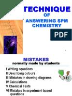 Teknik Menjawab Kimia SPM