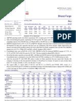 Bharat Forge Ltd - Globalization