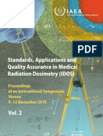 QA IN MEDICAL RADIATION DOSIMETRY